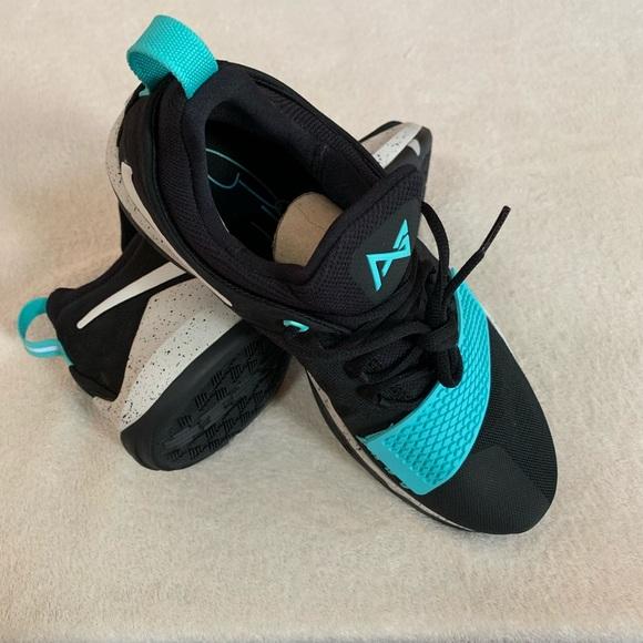 on sale 9011c 0777b Nike PG 1 Blockbuster Aqua 878627-002 Black 11